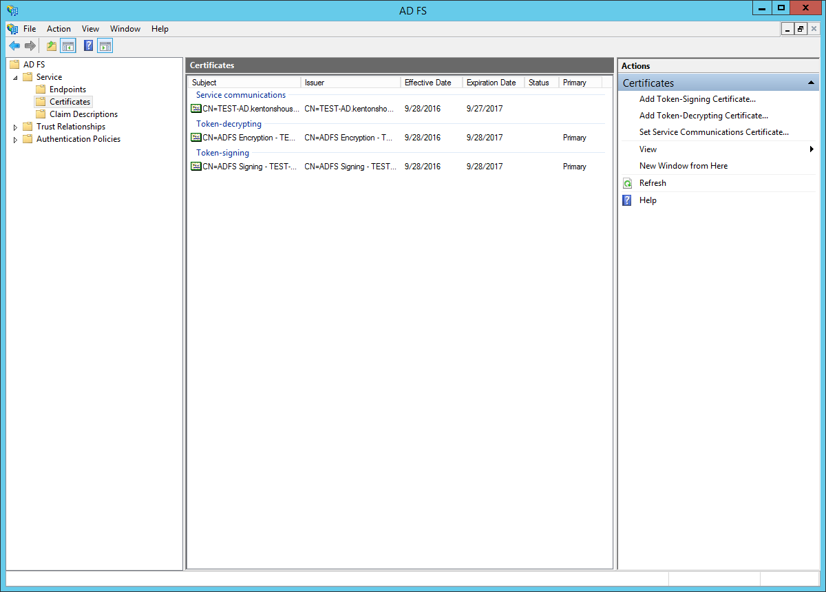 Active Directory integration -